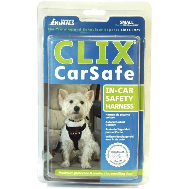 COA Clix Car Safe In Car Safety Dog Harness Small