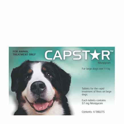Capstar Flea Treatment Tablet 57mg Pack of 6