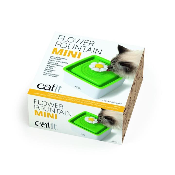 Catit 2.0 Senses Flower Cat Water Fountain Mini 1.5L