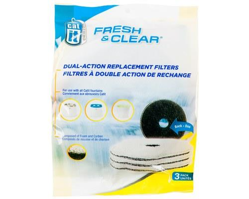 Catit Fresh & Clear Cat Drinking Station Replacement Filters 3 Pack