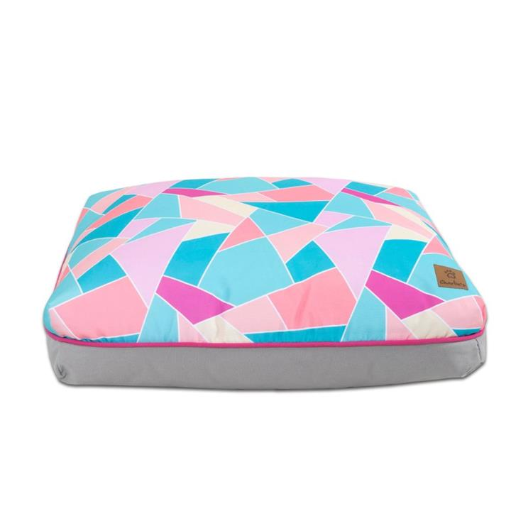 Charlie's Funk Pad Multi Triangle Dog Bed Large