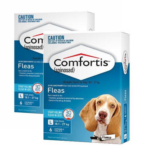 Comfortis Large 18-27kg Blue 12 pack