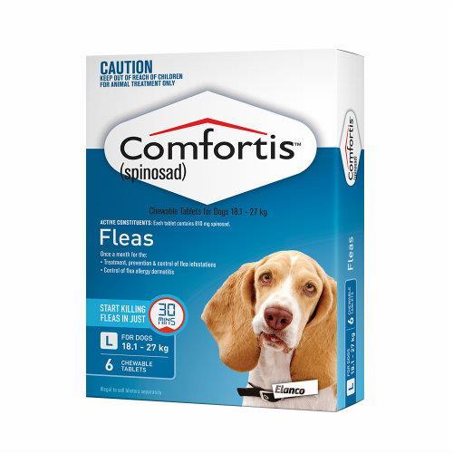 Comfortis Large 18-27kg Blue 6 pack