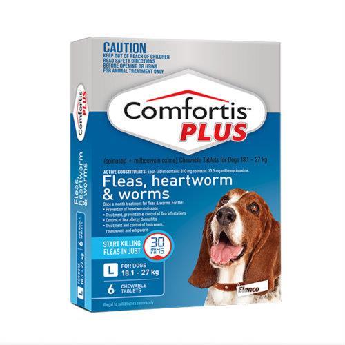 Comfortis Plus Blue 18.1-27kg 6 pack