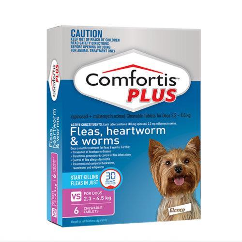 Comfortis Plus Pink 2.3-4.5kg 6 pack