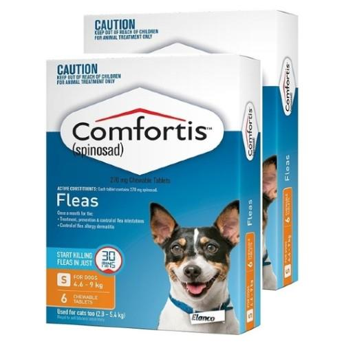 Comfortis Small 4.6-9kg Orange 12 pack