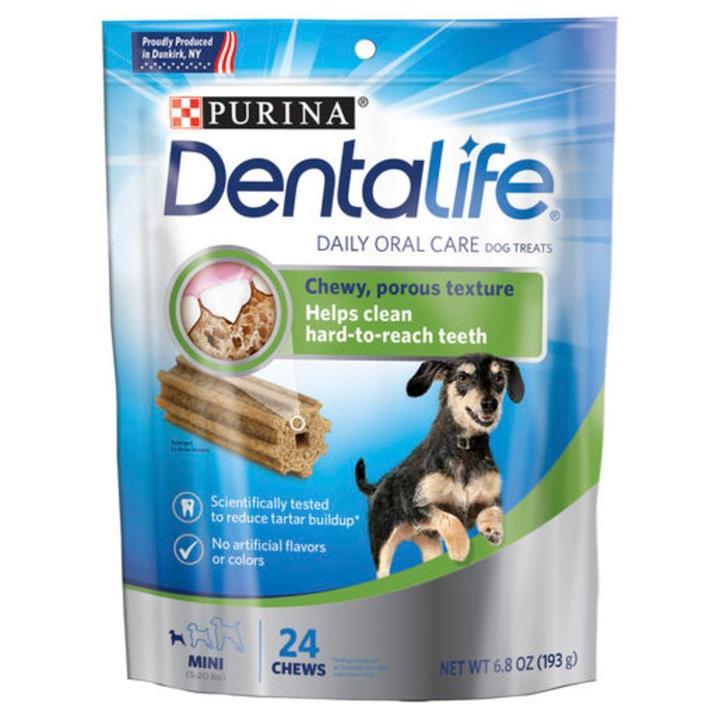 Dentalife Daily Oral Care Dental Dog Treats Mini 193g