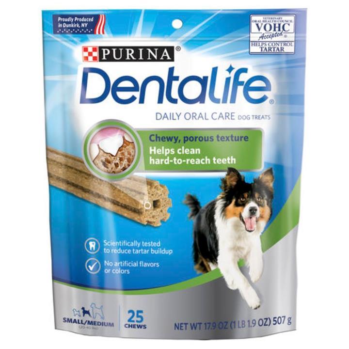 Dentalife Daily Oral Care Dental Dog Treats Small & Medium