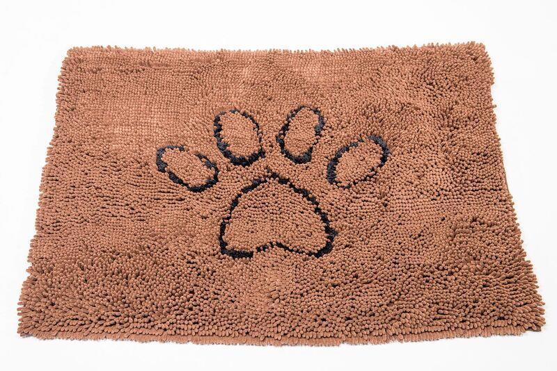 Dog Gone Smart Dirty Dog Doormat Brown