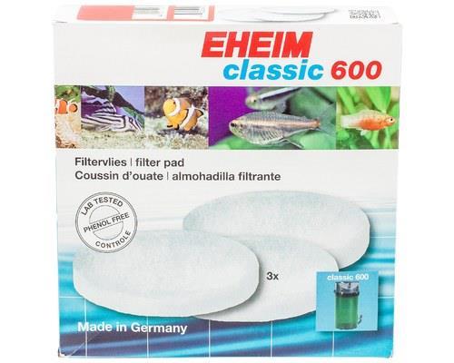 Eheim Fish White Wool Filter Pad For External Filter 2217 3 Pack