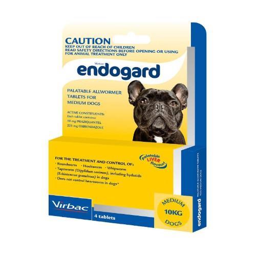 Endogard Medium Dogs 10-20kg 4 pack