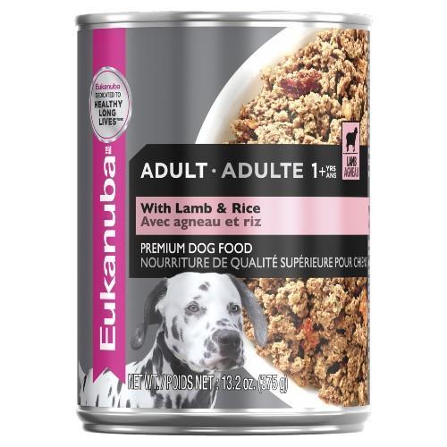 Eukanuba Adult Lamb and Rice Cans 12x475g