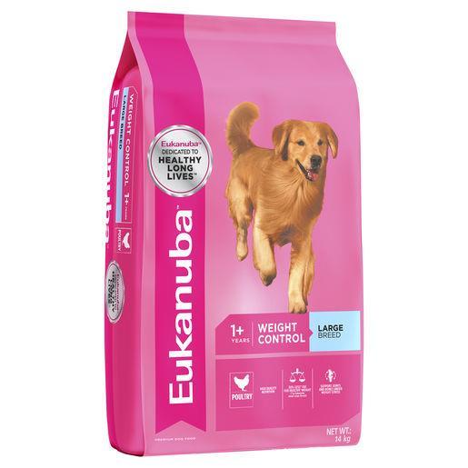 Eukanuba Adult Large Breed Fit Body Dog Food 14kg