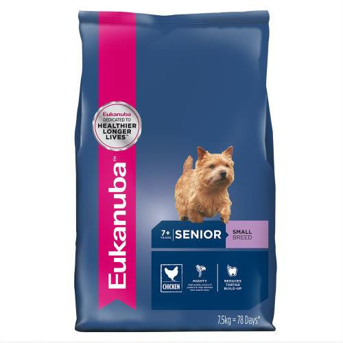 Eukanuba Senior Small Breed 7.5kg