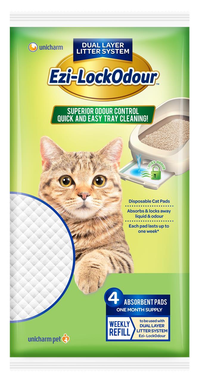 Ezi-LockOdour Cat Litter System Absorbant Cat Pads