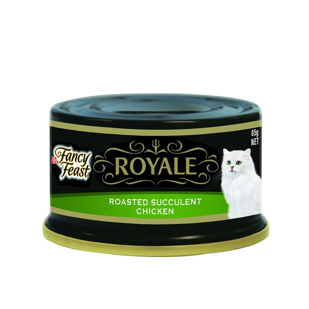 Fancy Feast Royale Roasted Succulent Chicken 24 X 85g