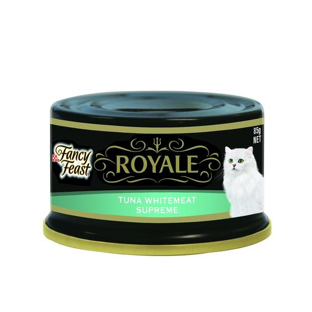 Fancy Feast Royale Tuna Whitemeat Supreme 24 X 85g