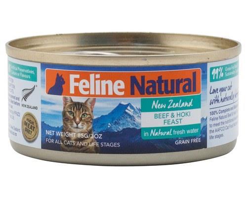 Feline Natural Beef & Hoki 85gm