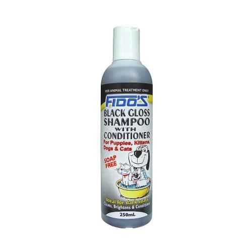 Fido's Black Gloss Shampoo with Conditioner 250ml