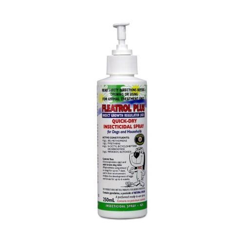 Fido's Fleatrol Plus Quick Dry Spray 250ml