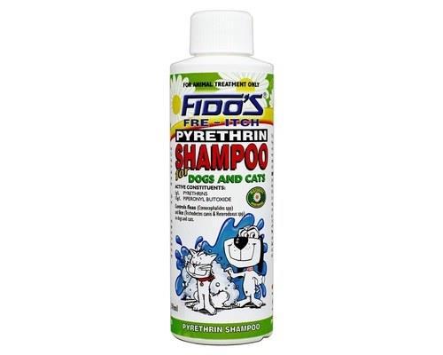 Fidos Pyrethrin Shampoo 250ml
