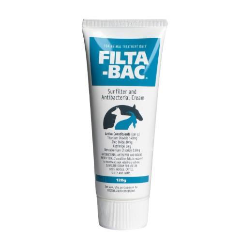 Filta-Bac Sunfilter And Antibacterial Cream 120g