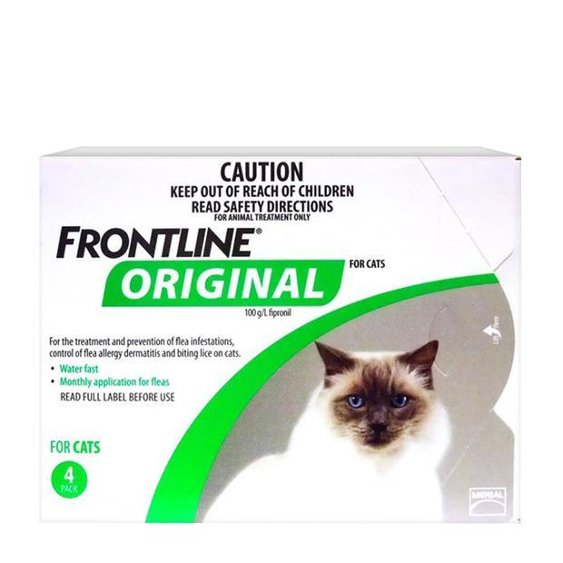 Frontline Original Cat Green 4 Pack