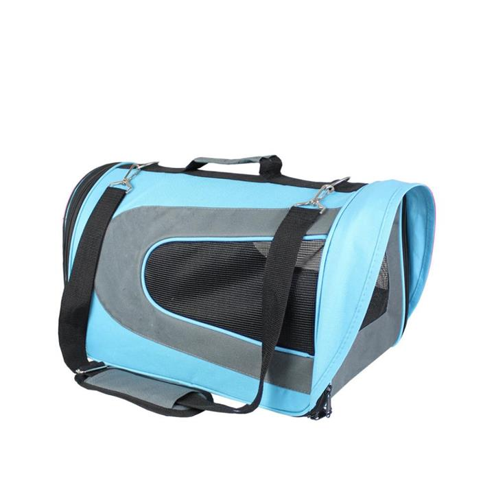 FurKidz Personal Portable Pet Travel Carrier Blue Small