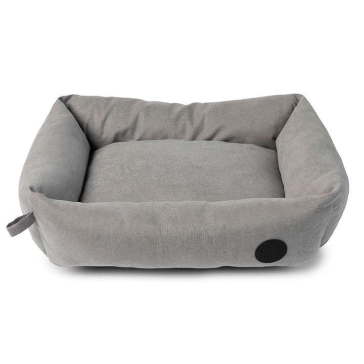 FuzzYard Dog Bed The Lounge Bed Stone Grey