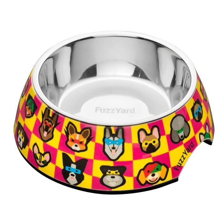 FuzzYard Dog Bowl Doggoforce Medium