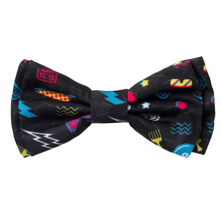 FuzzYard Dog Bowtie Bel Air Black Large