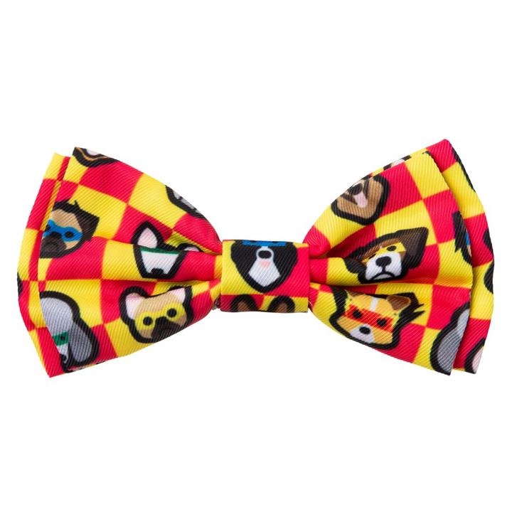 FuzzYard Dog Bowtie Doggoforce Large