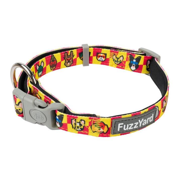 FuzzYard Dog Collar Doggoforce Medium