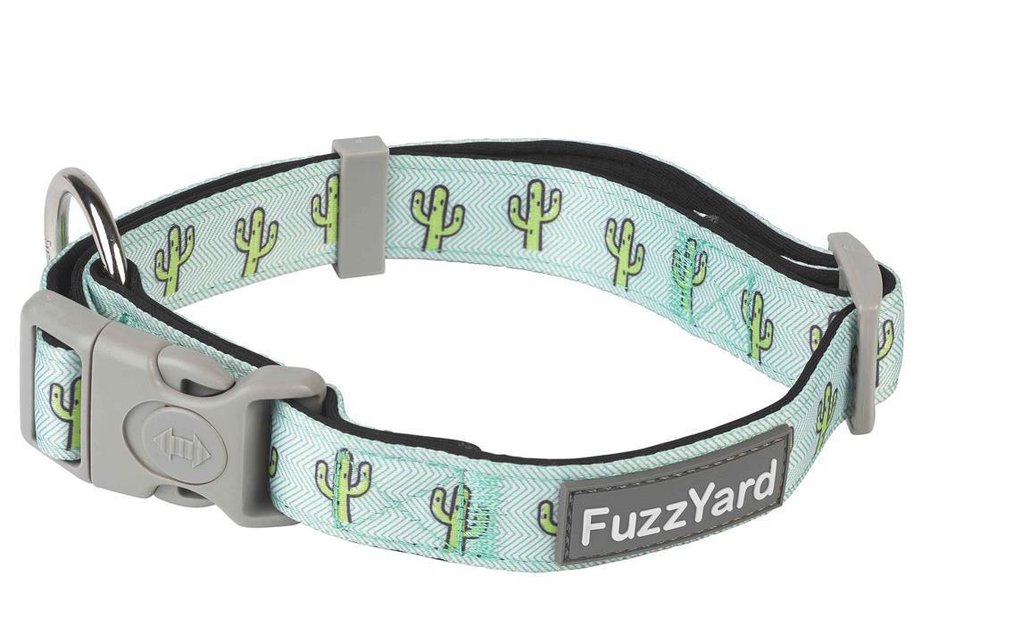 FuzzYard Dog Collar Tucson Blue Medium