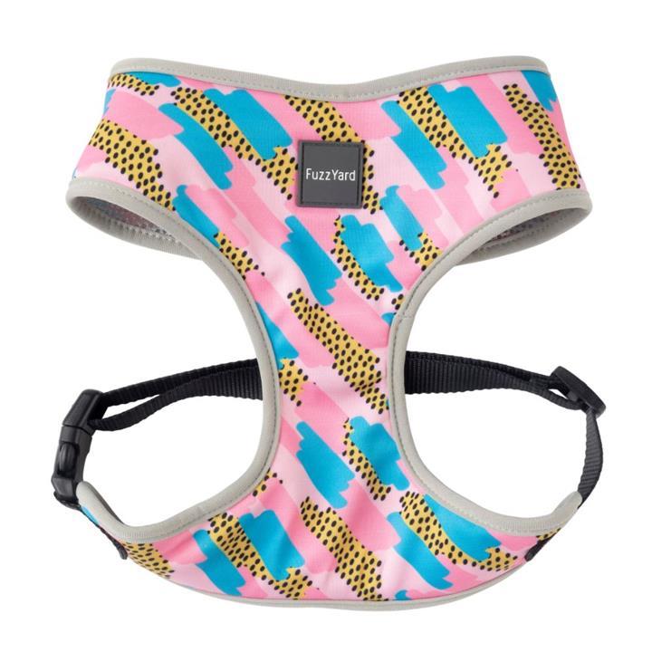 FuzzYard Dog Harness Jiggy Pink Medium
