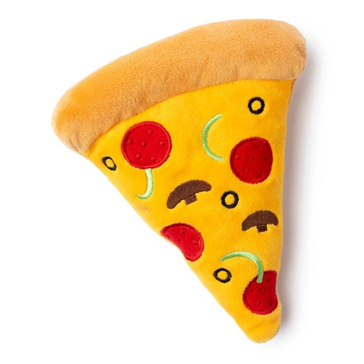 FuzzYard Dog Toy Pizza