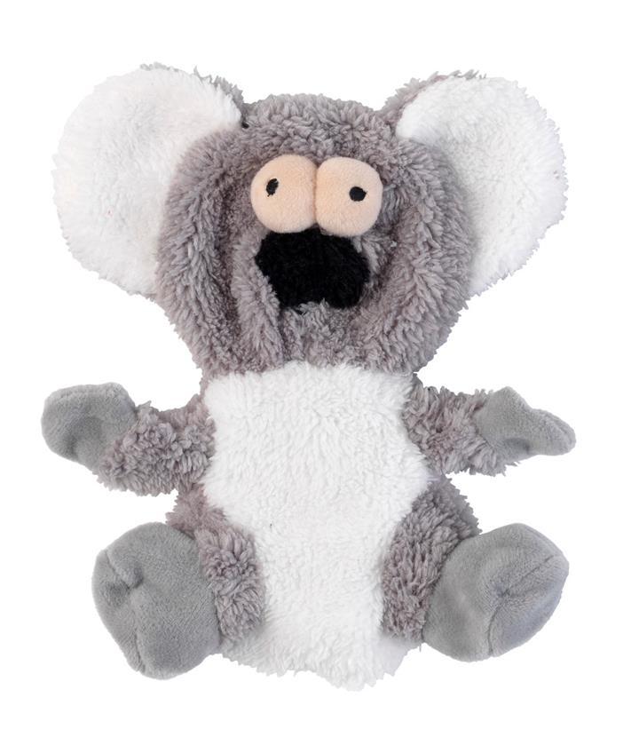 FuzzYard Flat Out Nasties Kana the Koala Dog Toy