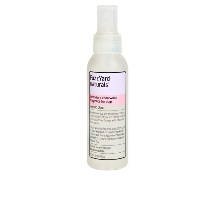 FuzzYard Lavender & Cedarwood Dog Calming Spray 120ml