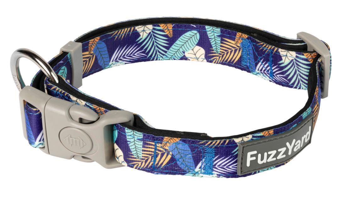 FuzzYard Mahalo Blue Dog Collar