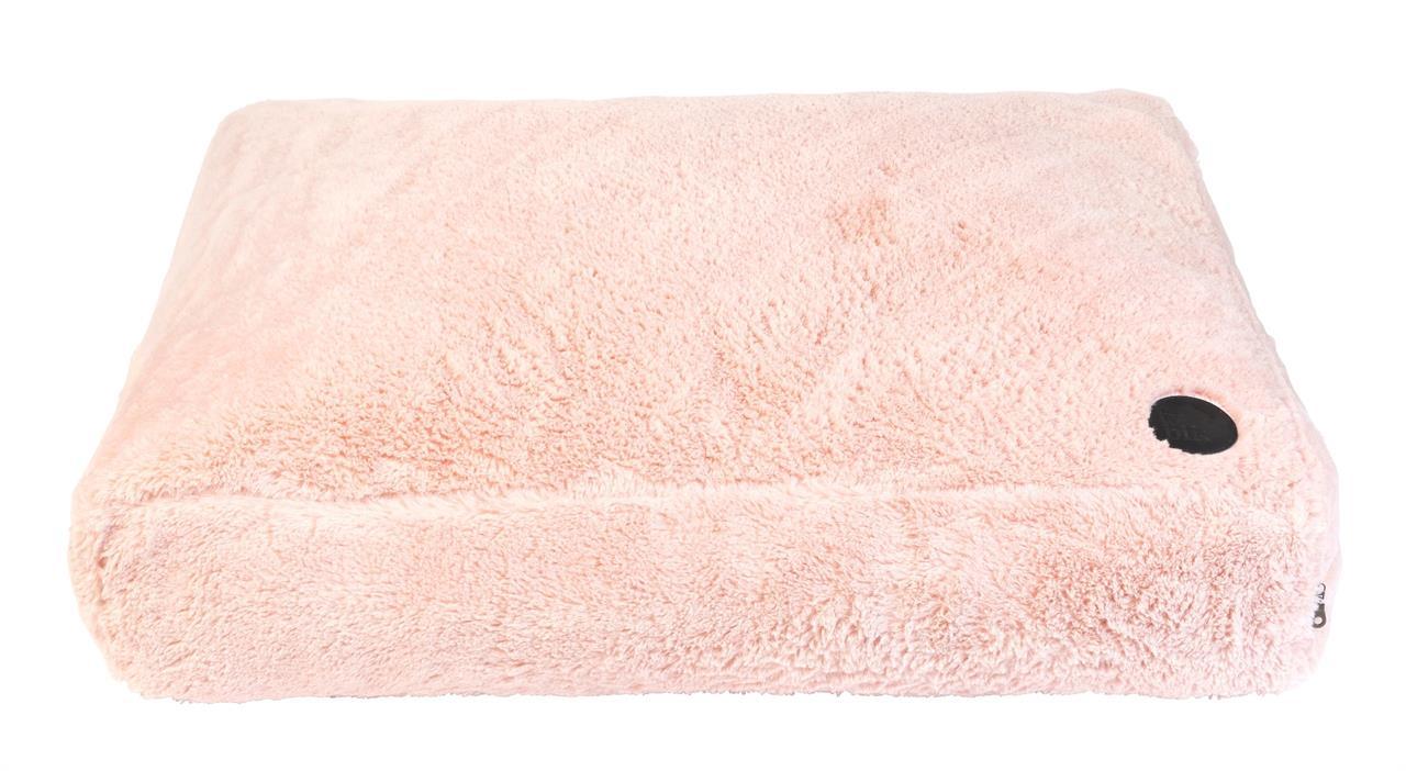 FuzzYard Nanook Plush Dog Pillow Lotus Pink