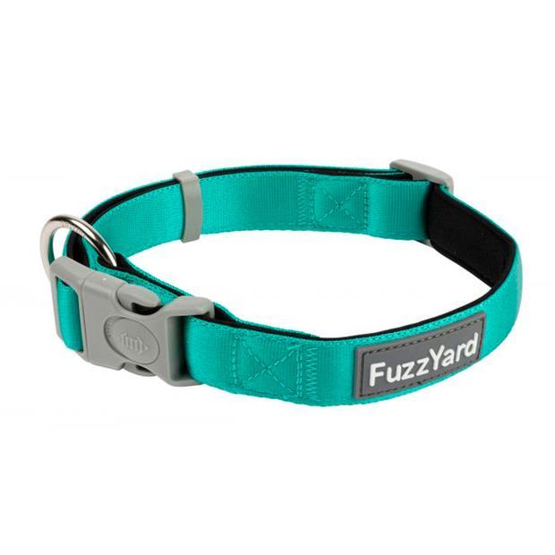 Fuzzyard Dog Collar Lagoon Large
