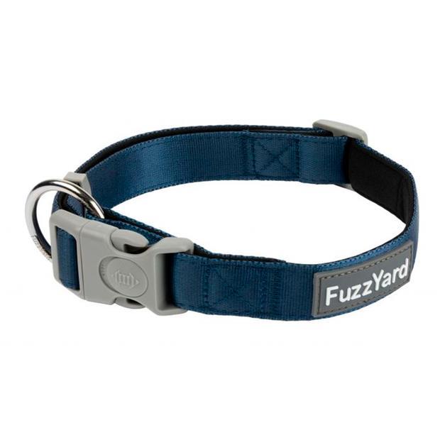 Fuzzyard Dog Collar Marine Large