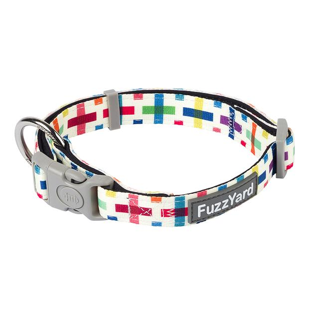Fuzzyard Jenga Dog Collar Small