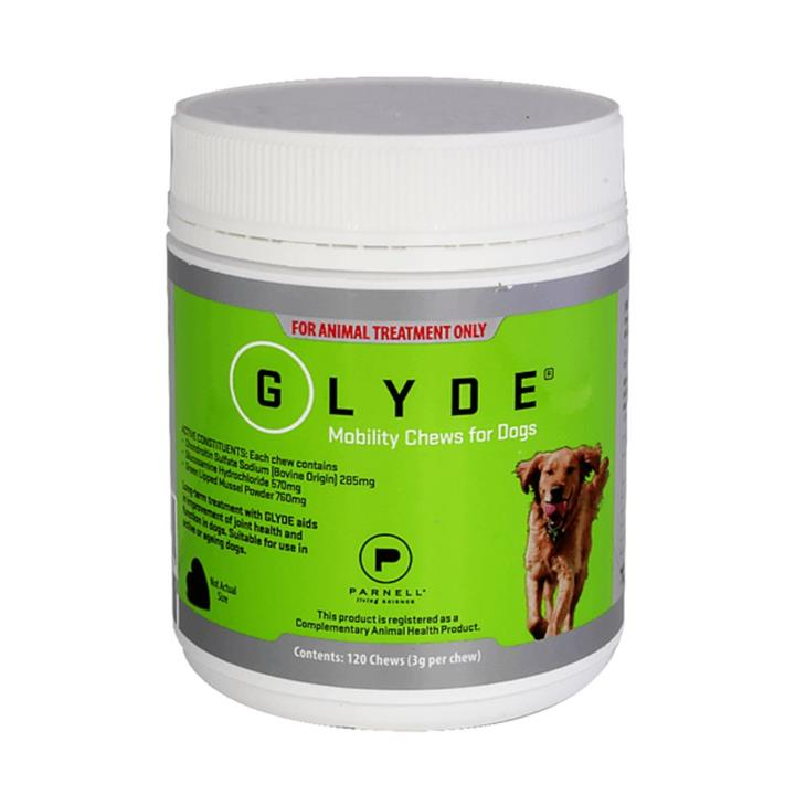 Glyde Mobility Joint Health Chews For Dogs 120 Pack