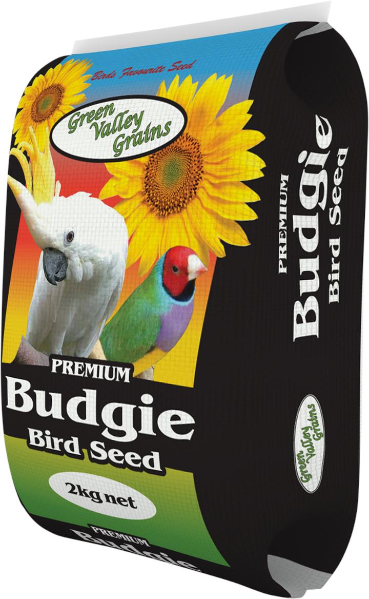 Green Valley Grains Budgie Mix 2kg