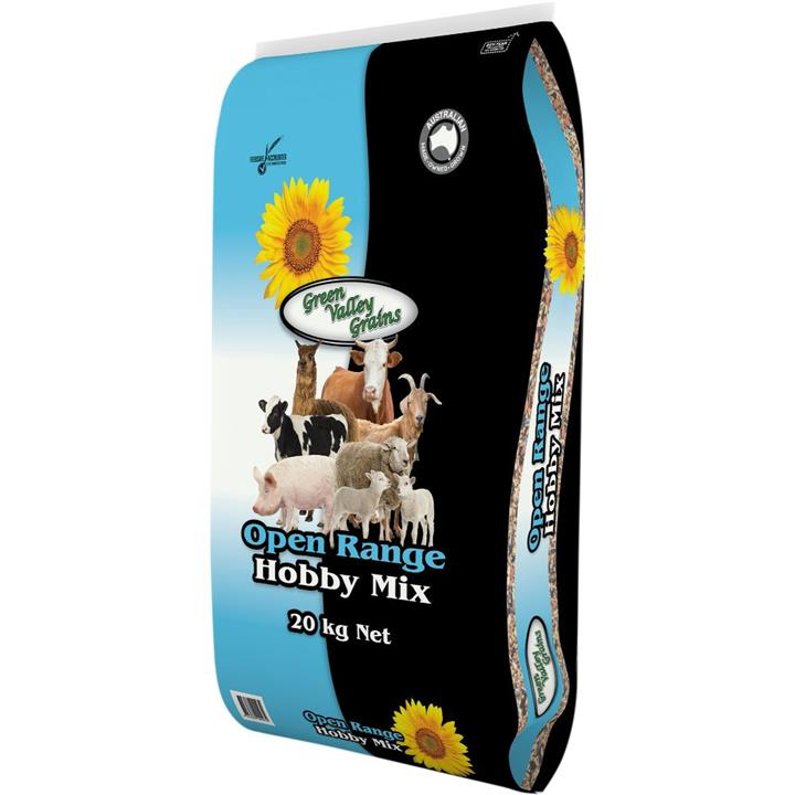 Green Valley Grains Open Range Hobby Farm Mix 20kg