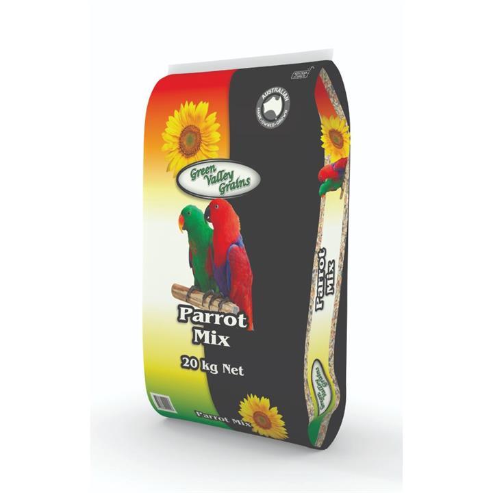 Green Valley Grains Parrot Mix 20kg