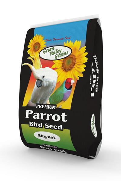 Green Valley Grains Parrot Mix 5kg