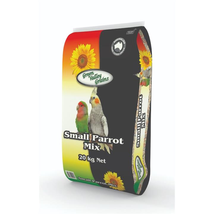 Green Valley Grains Small Parrot Mix 20kg