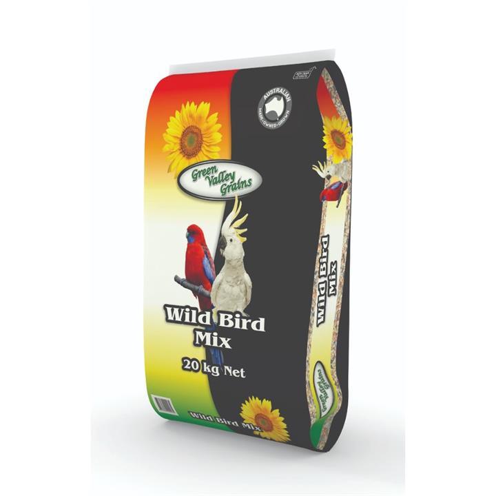 Green Valley Grains Wildbird Mix 20kg